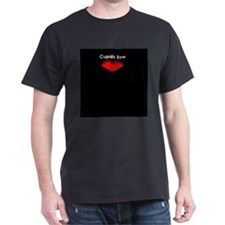 Cupid's Bow Black T-Shirt