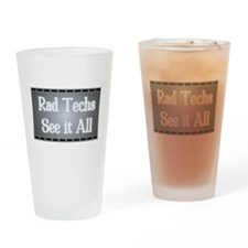 I See All. Drinking Glass