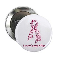 "Sickle Cell Anemia Ribbon 2.25"" Button"