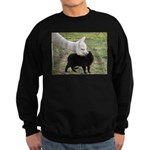 LET'S BE FRIENDS Sweatshirt (dark)