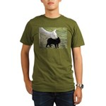 LET'S BE FRIENDS Organic Men's T-Shirt (dark)