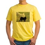 LET'S BE FRIENDS Yellow T-Shirt