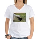 LET'S BE FRIENDS III™ Women's V-Neck T-Shirt