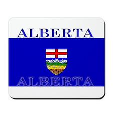 Alberta Albertan Flag Mousepad