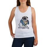 Thug Pug Women's Tank Top