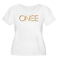 Once Upon A Time Women's Plus Size Scoop Neck T-Sh