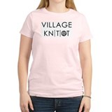 Village Knitiot Women's Pink T-Shirt