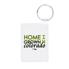 'Home Grown In Colorado' Keychains