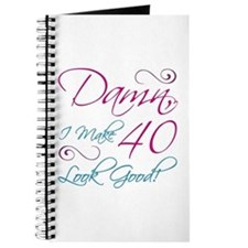 40th Birthday Humor Journal