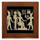 Vintage Egyptian Panel Framed Tile