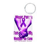 Cute Fibromyalgia Aluminum Photo Keychain