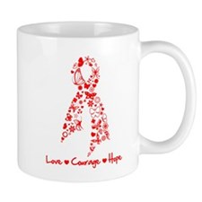 Heart Disease Butterfly Mug