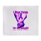Funny Fibromyalgia Throw Blanket