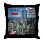 WTC, 9/11 Tribute Throw Pillow