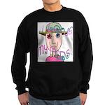I Love My Meds Sweatshirt (dark)