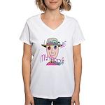I Love My Meds Women's V-Neck T-Shirt