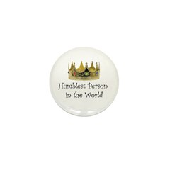Humblest Person Mini Button (10 pack)