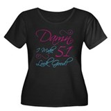 51st Birthday Humor Women's Plus Size Scoop Neck D