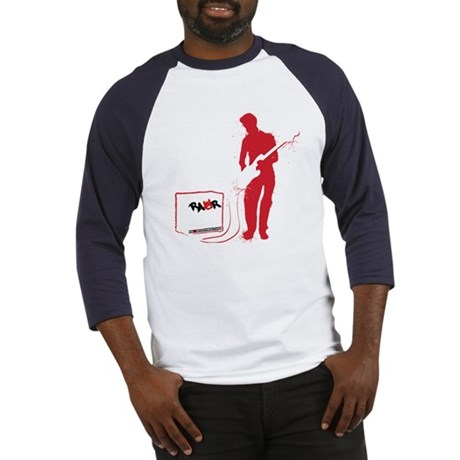 Rock Guitarist Baseball Jersey