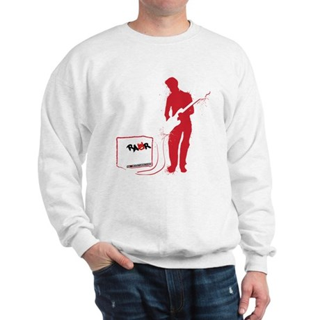 Rock Guitarist Sweatshirt