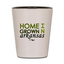 'Arkansas' Shot Glass