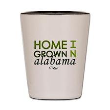 'Home Grown In Alabama' Shot Glass