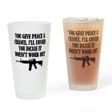 Unique Army soldier Drinking Glass