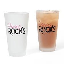 Nursing Rocks Drinking Glass