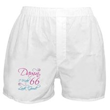 66th Birthday Humor Boxer Shorts