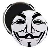 "Anonymous Mask 2.25"" Magnet (100 pack)"