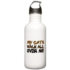 'Walk All Over Me' Water Bottle