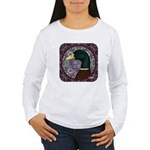 Mallard Circle Mosaic Women's Long Sleeve T-Shirt