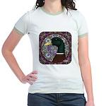 Mallard Circle Mosaic Jr. Ringer T-Shirt