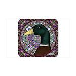 Mallard Circle Mosaic 38.5 x 24.5 Wall Peel