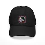 Mallard Circle Mosaic Black Cap