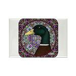 Mallard Circle Mosaic Rectangle Magnet (100 pack)