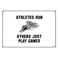 Athletes Run Banner