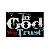 In God We Trust! Rectangle Magnet (100 pack)