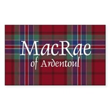 Tartan - MacRae of Ardentoul Decal