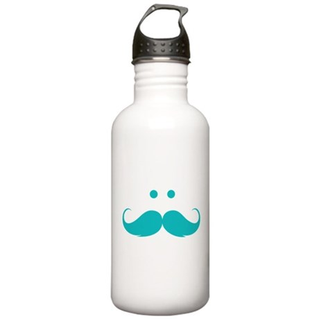 Moustache face Stainless Water Bottle 1.0L