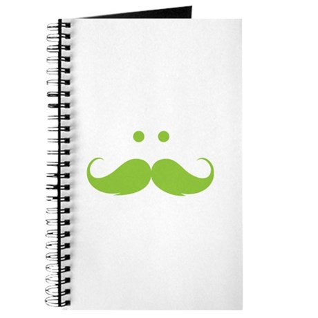 Moustache face Journal