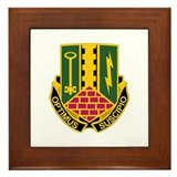 DUI - 2nd BCT - Special Troops Bn Framed Tile