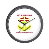 DUI - 1st Bn - 6th Infantry Regt with Text Wall Cl