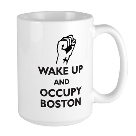 Occupy Boston Large Mug