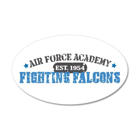 Air Force Falcons 22x14 Oval Wall Peel
