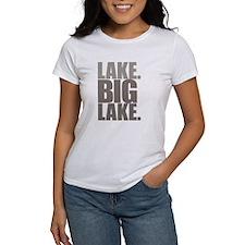 Lake. Big Lake. Tee