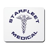 Starfleet Medical Mousepad