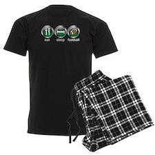 Eat Sleep Football : Pajamas