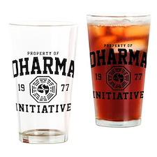 Dharma Initiative Drinking Glass
