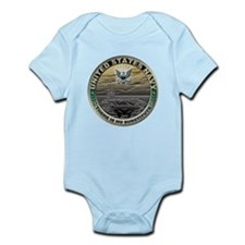 USN Navy There is No Substitu Infant Bodysuit